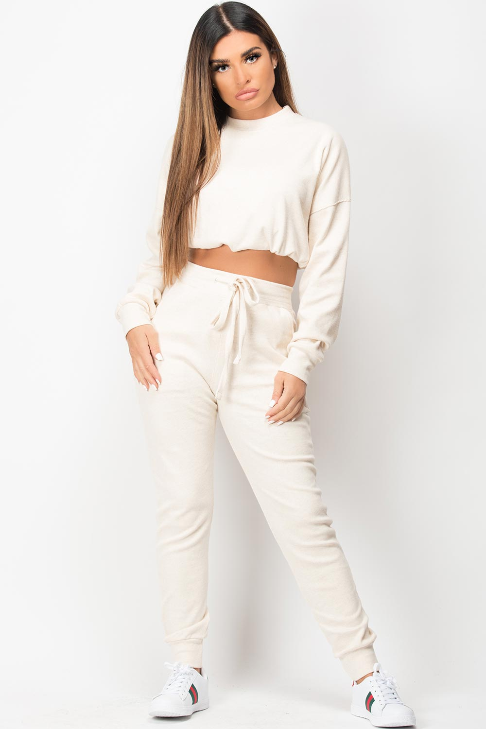 oatmeal loungewear set