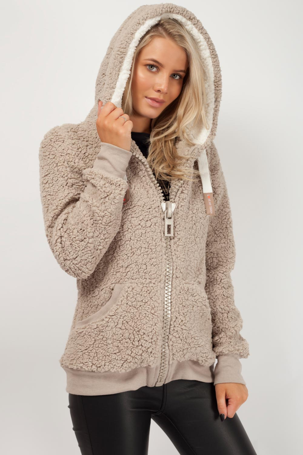 Beige Teddy Bear Coat