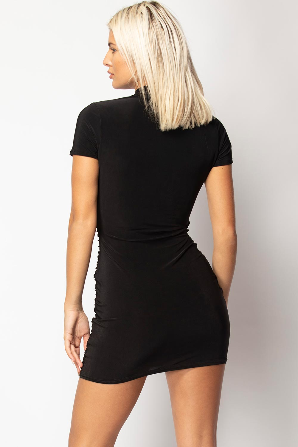 black bodycon dress uk