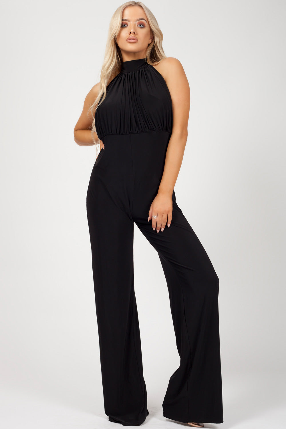 occasion jumpsuit black