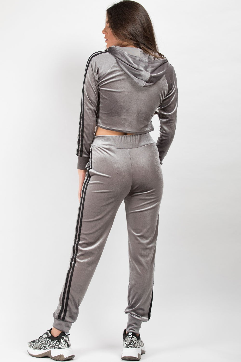 grey loungewear co ord set