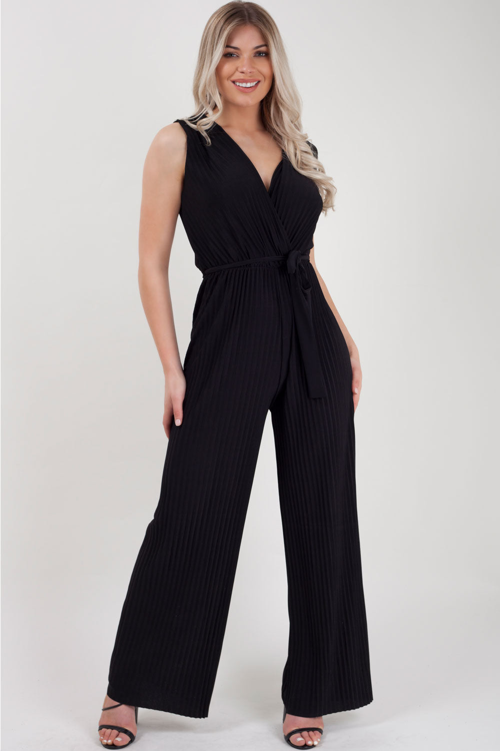 black occasion jumpsuit