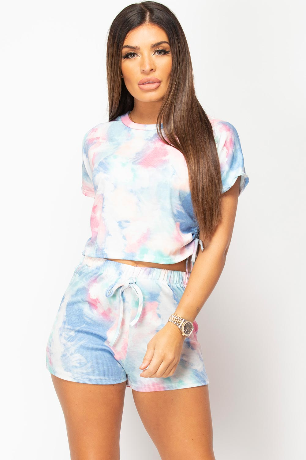 tie dye two piece set uk