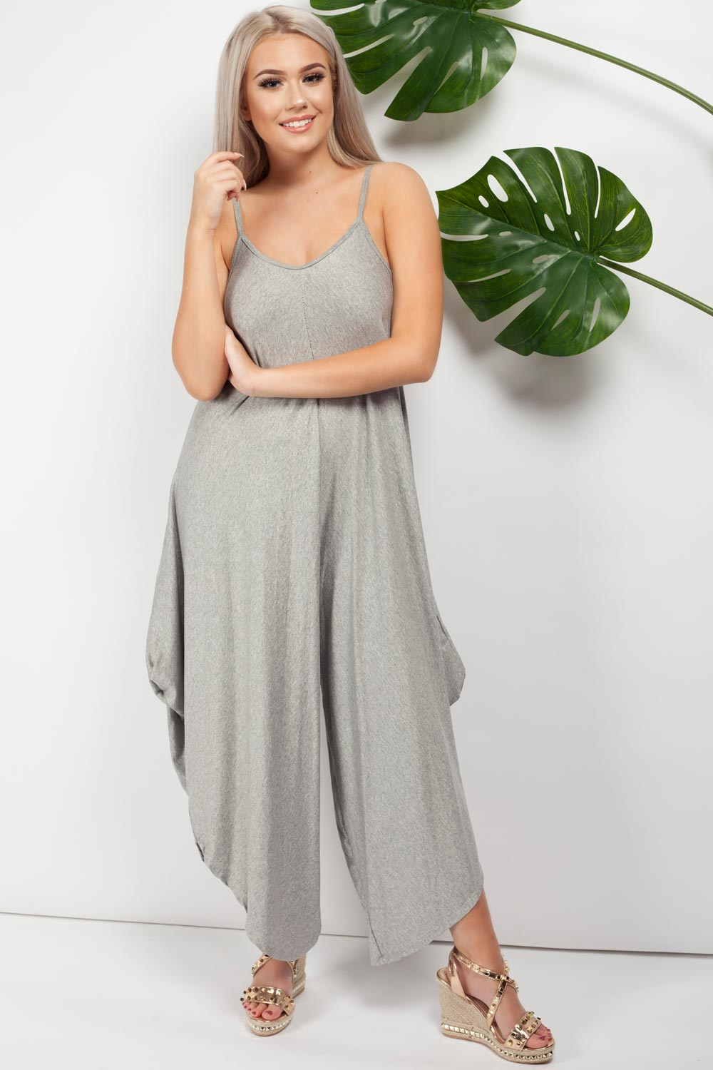 culotte jumpsuit grey uk