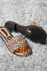 crystal diamante sliders