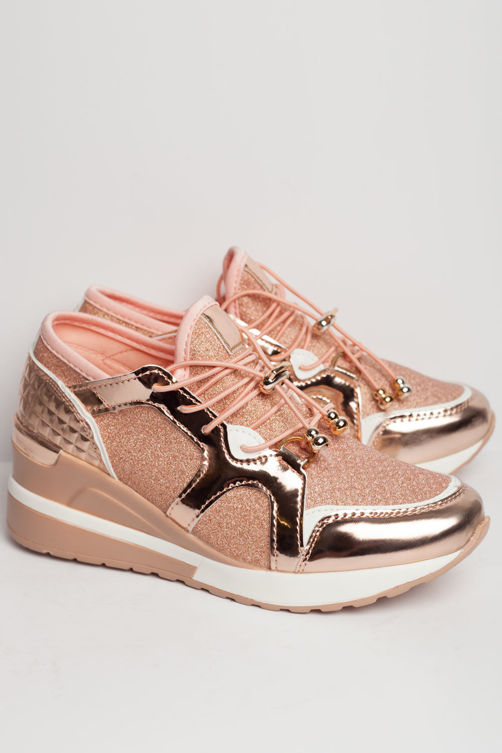 womens chunky trainers pink uk