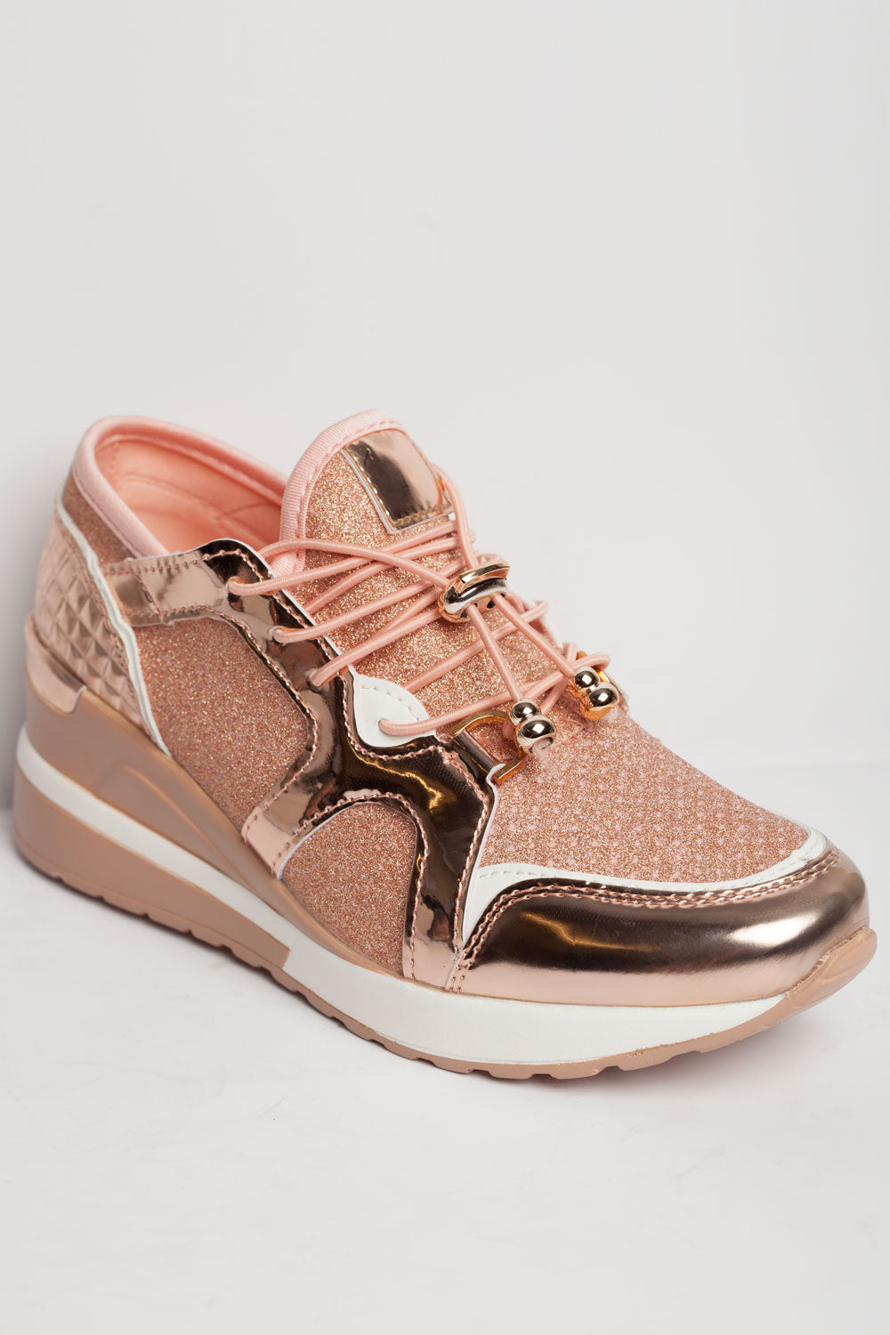 chunky trainers pink womens