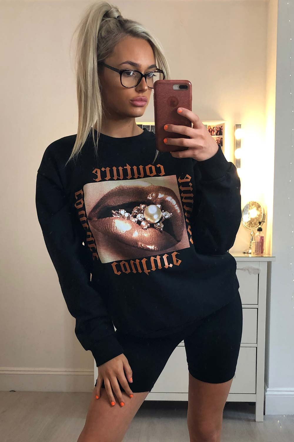 couture sweatshirt