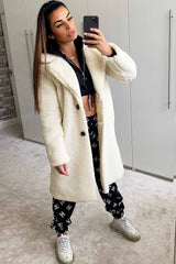 teddy bear coat cream