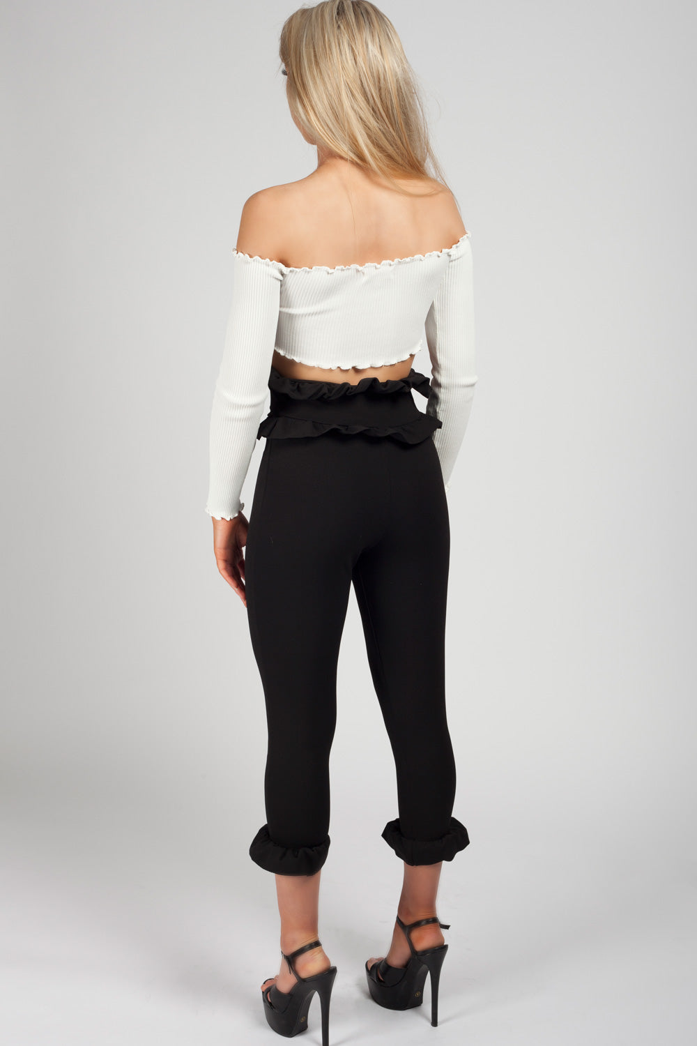 long sleeve crop top uk