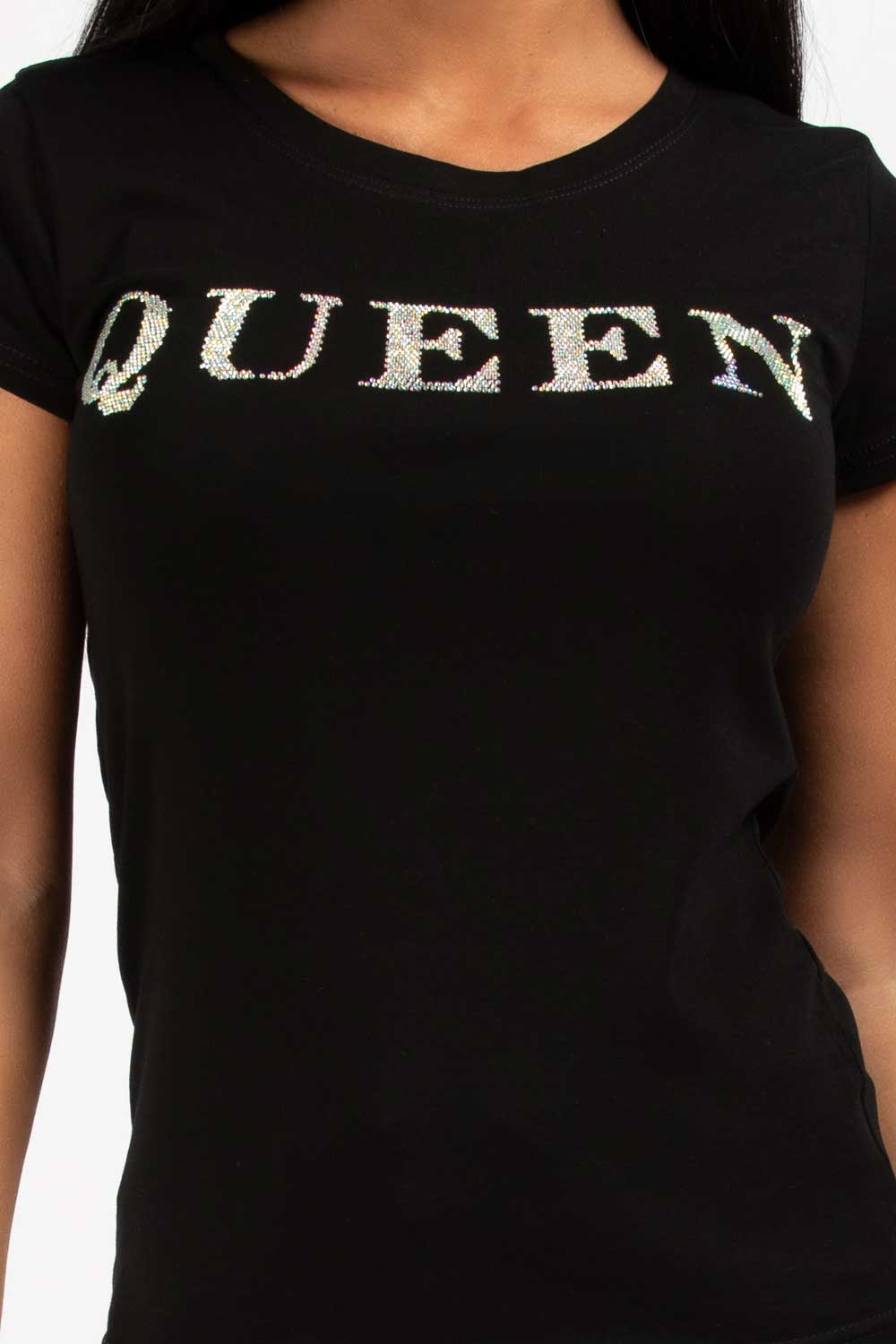 queen t shirt black