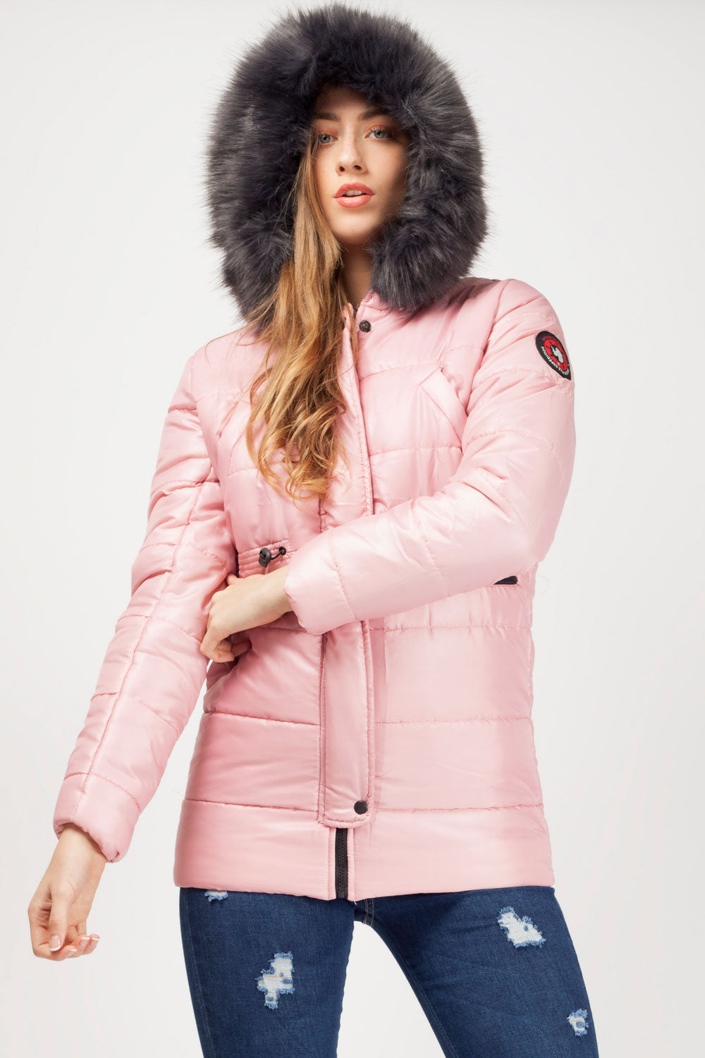 pink jackets for women