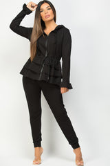 black gypsabella loungewear set on sale
