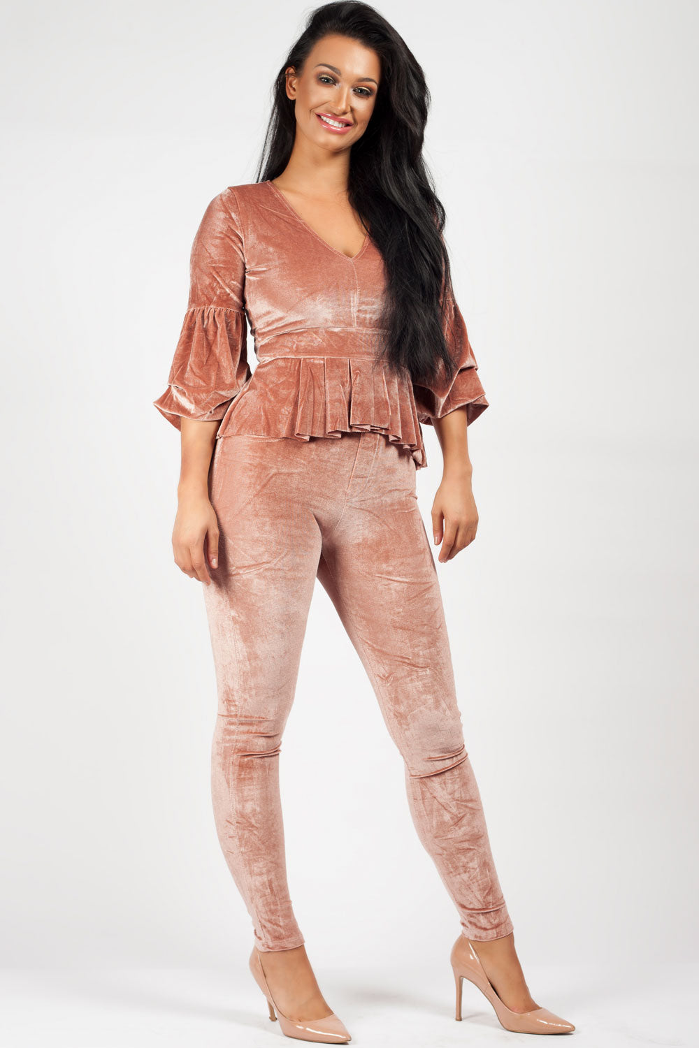 pink velour tracksuit uk
