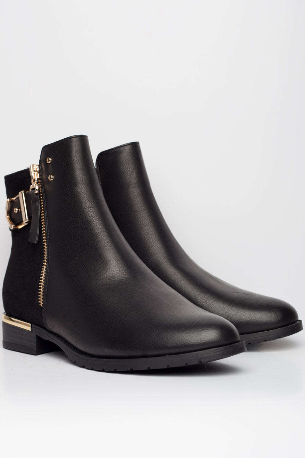 womens ankle boots black
