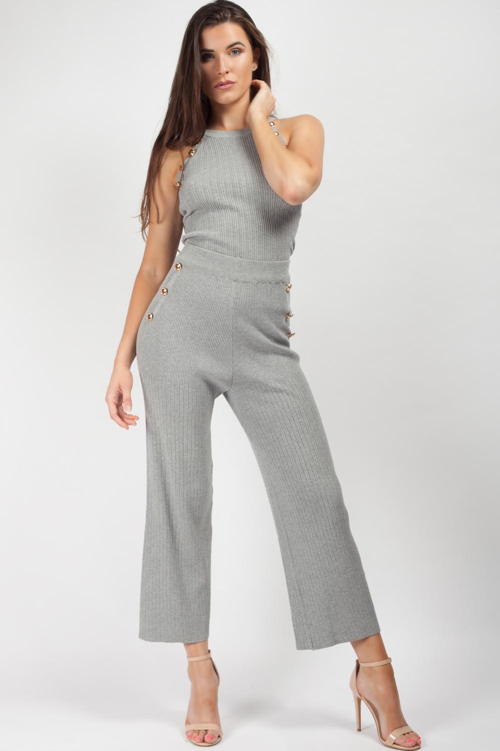 ribbed loungewear set