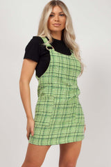 pinafore green styledup fashion