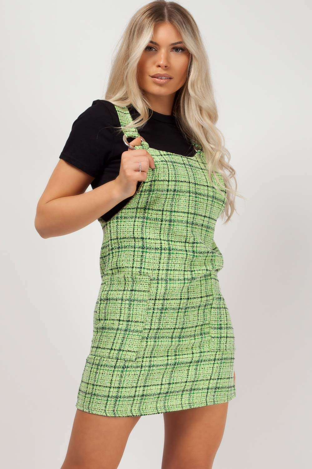 womens pinafore dress styledup fashion