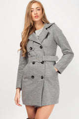 womens grey coat
