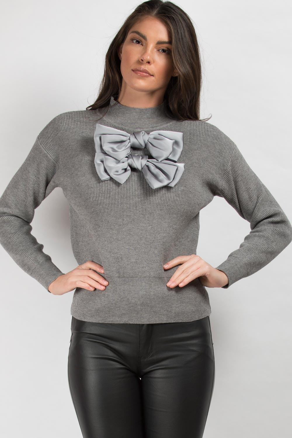 grey christmas jumper womens