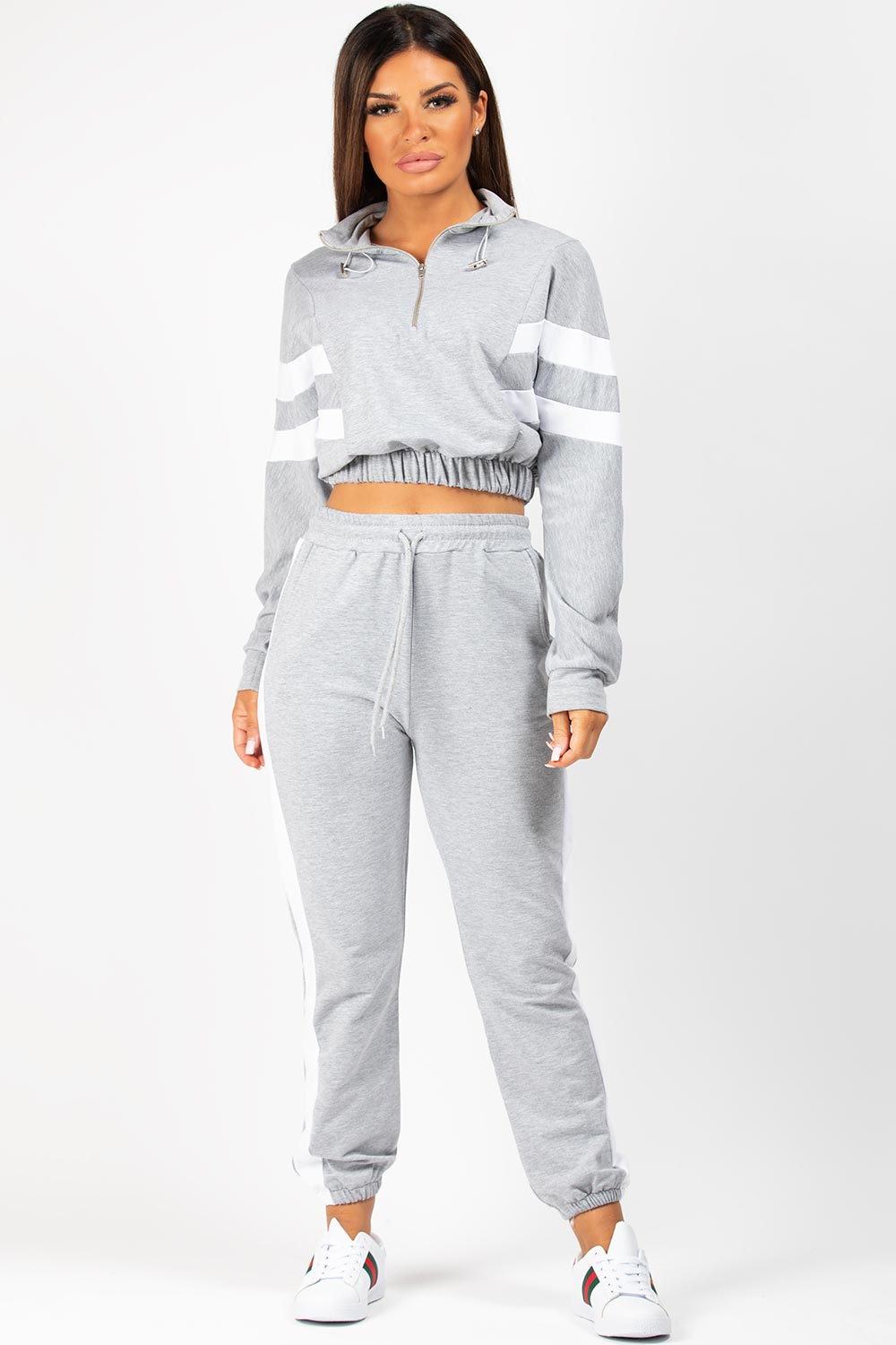 grey petite lounge set