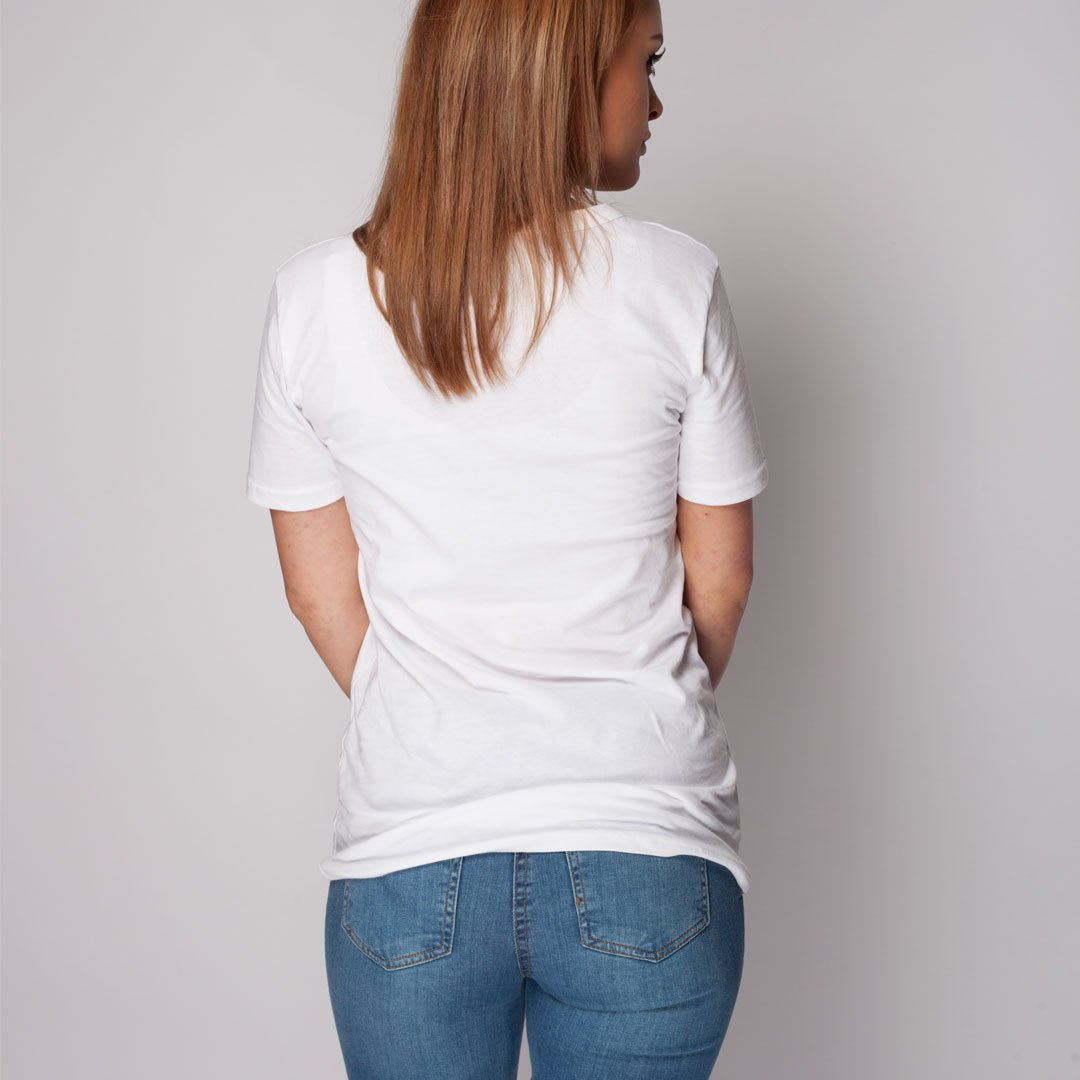 Cap sleeve Top white