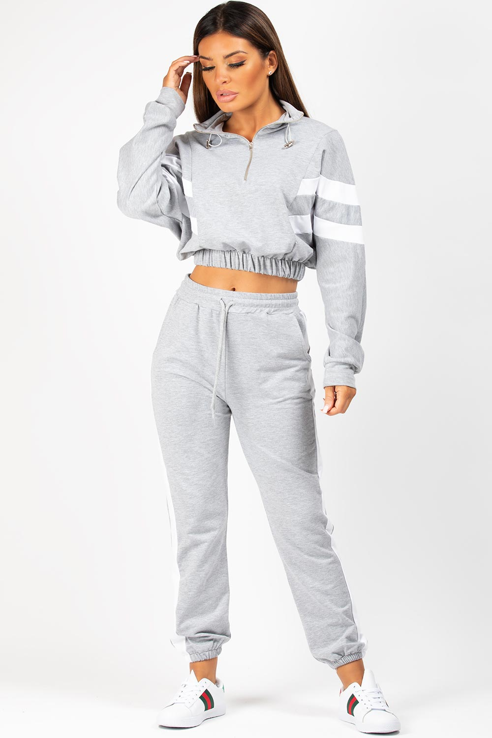 loungewear set grey