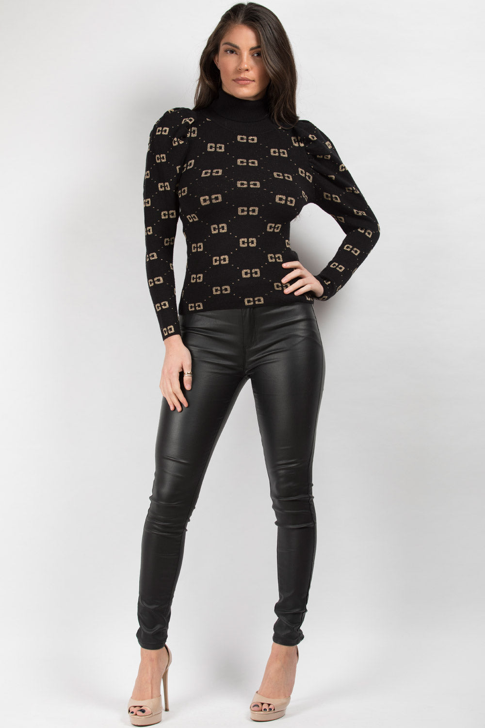 black gucci inspired jumper