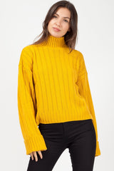 mustard knitted jumper uk