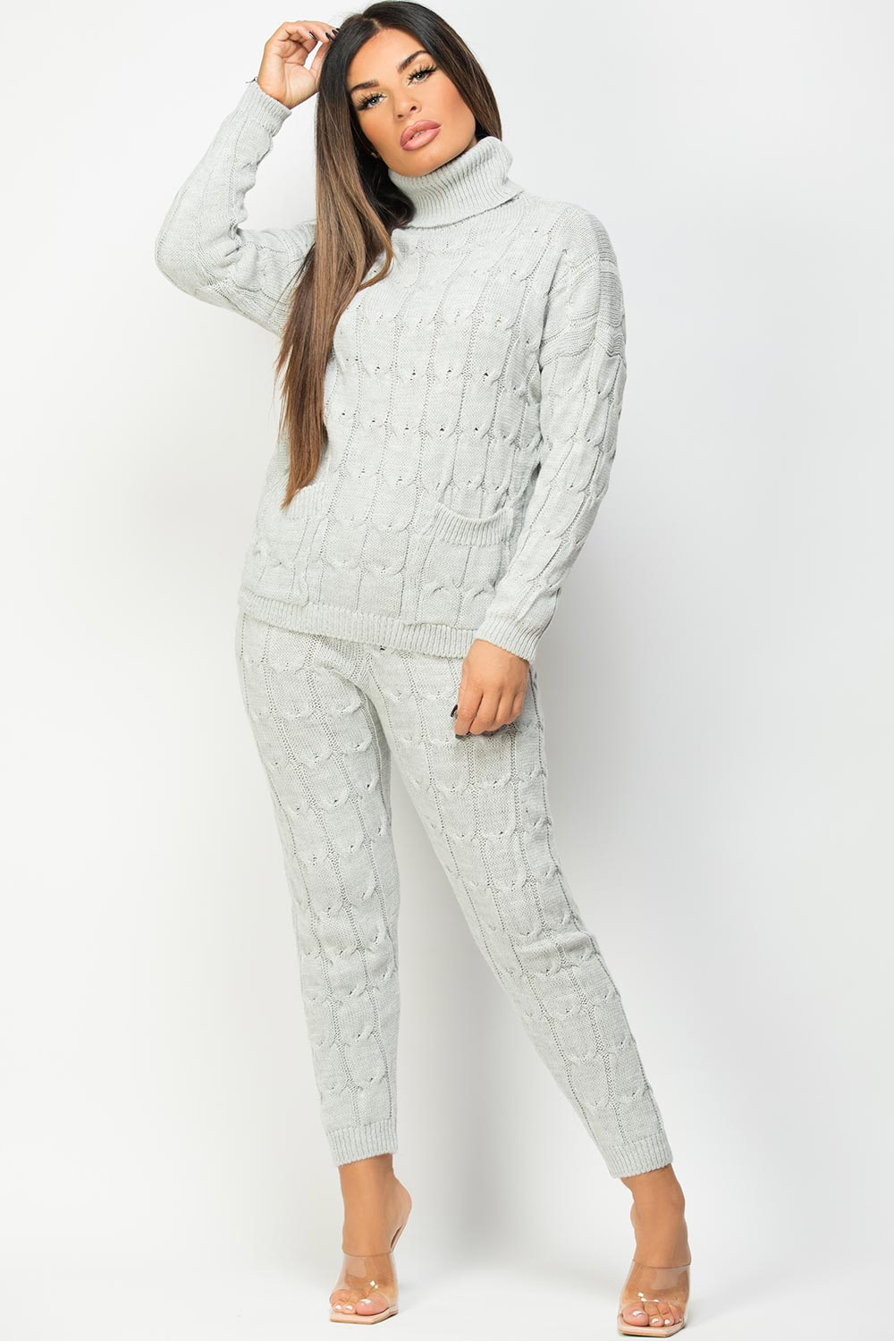 roll neck loungewear set