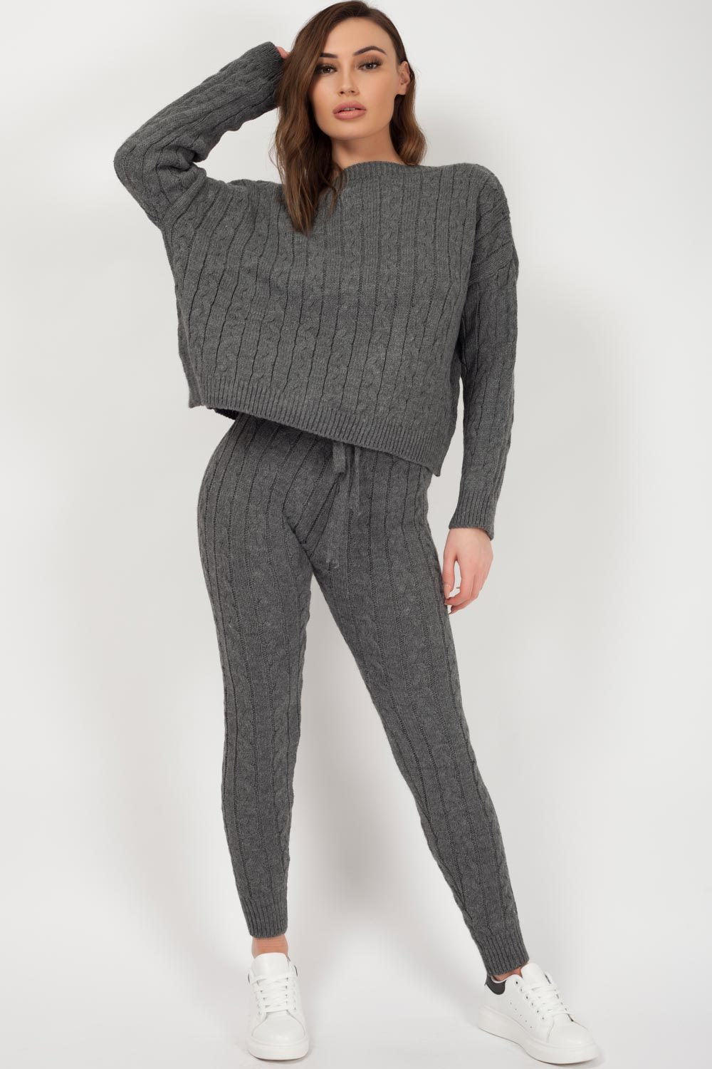 knitted loungewear set