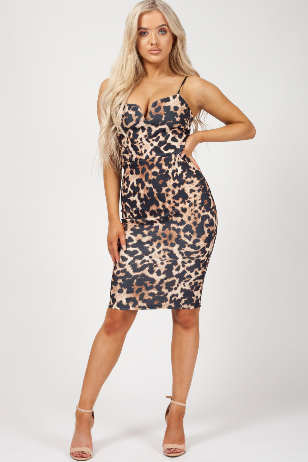 leopard print dress uk