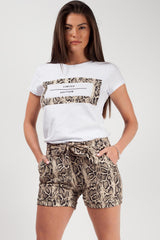 limited edition snake print co ord set styledup fashion