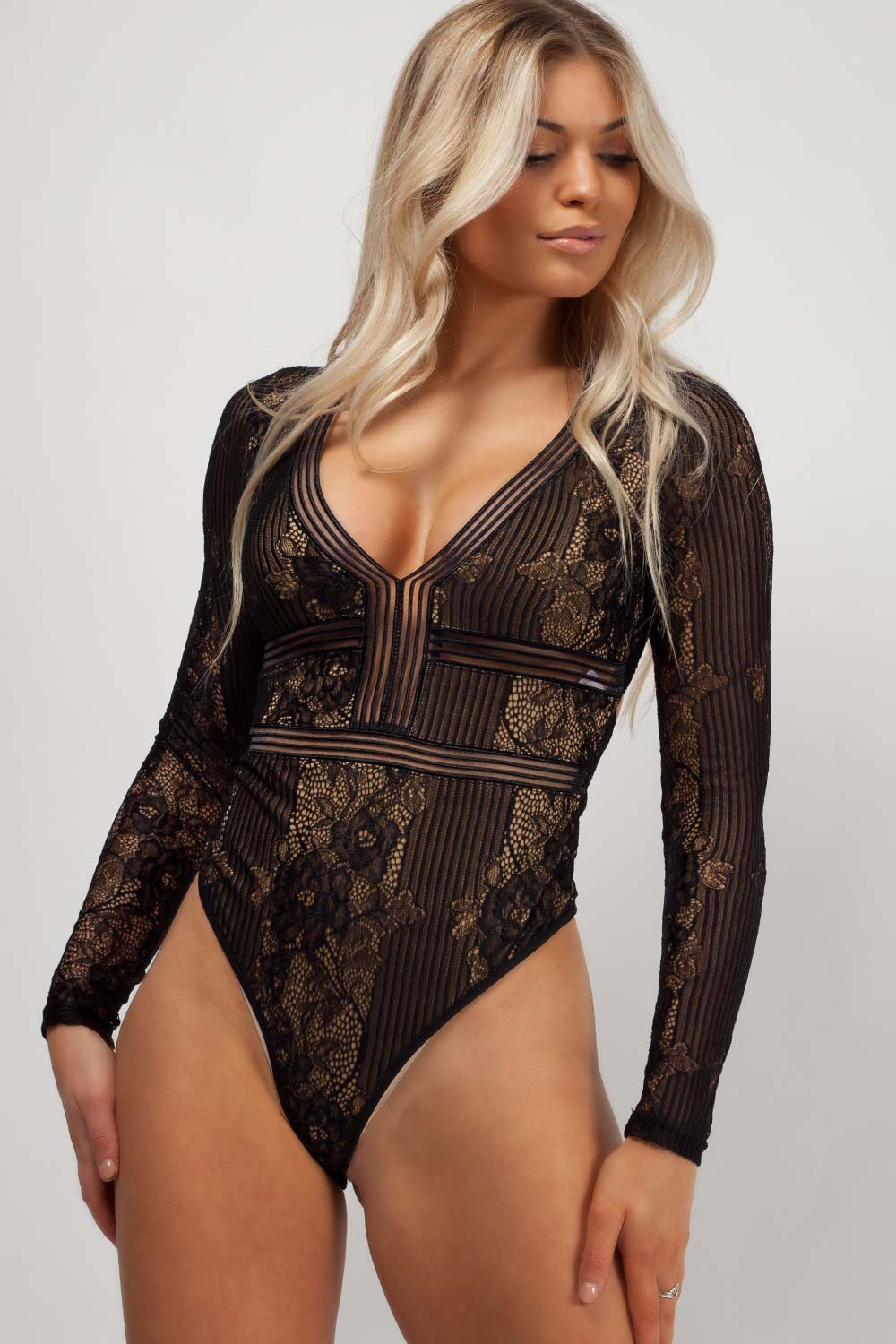 black bodysuit styledup fashion