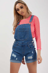 dungaree shorts womens styledup fashion
