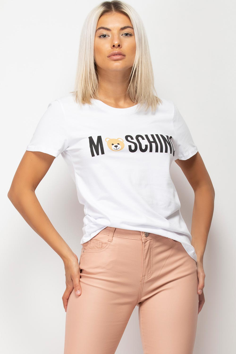 womens moschino inspired t shirt