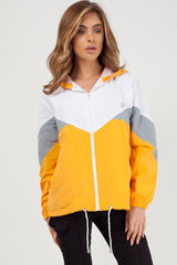 mustard light weight festival jacket
