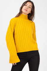 long sleeve ribbed knit jumper uk