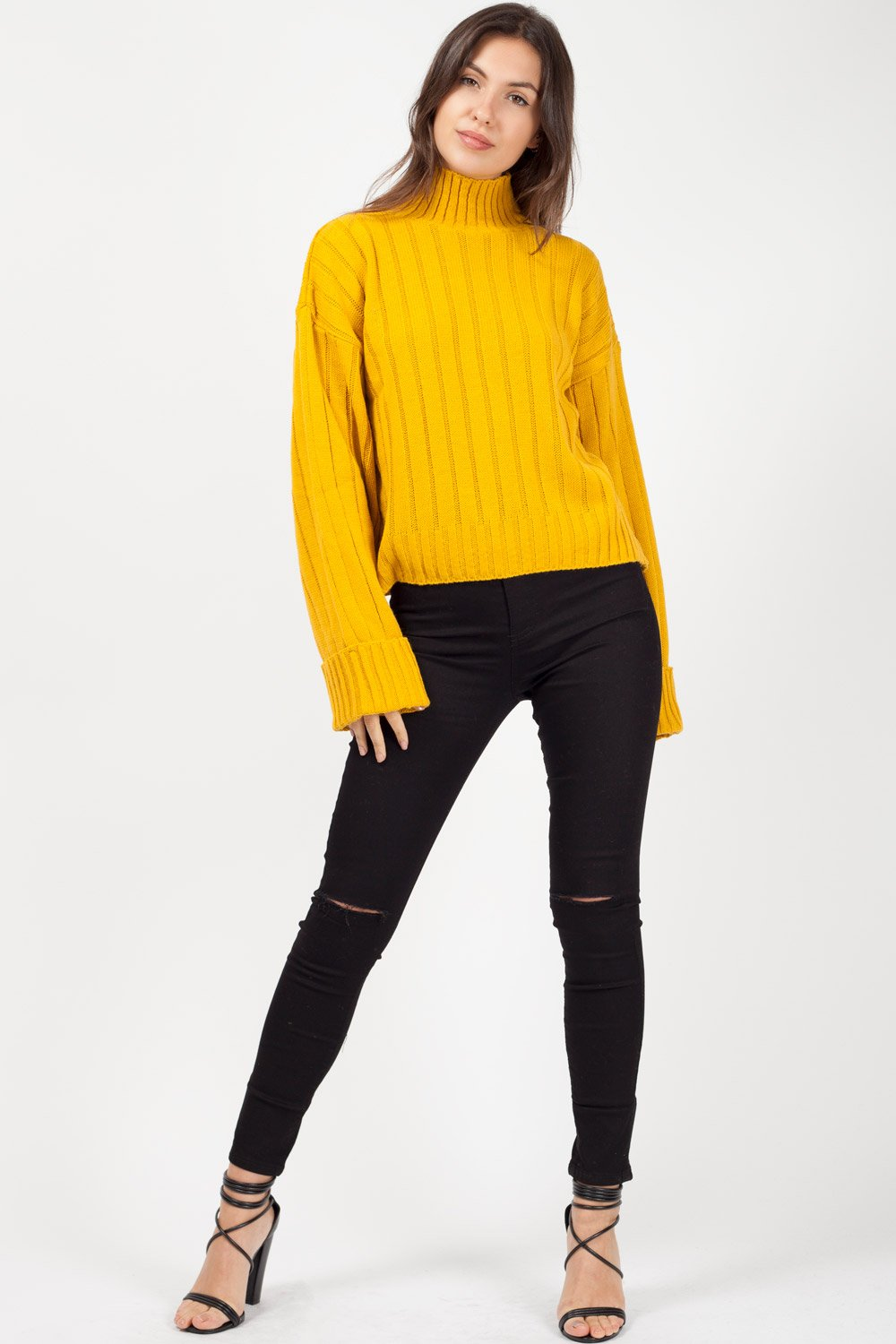 high neck jumper uk