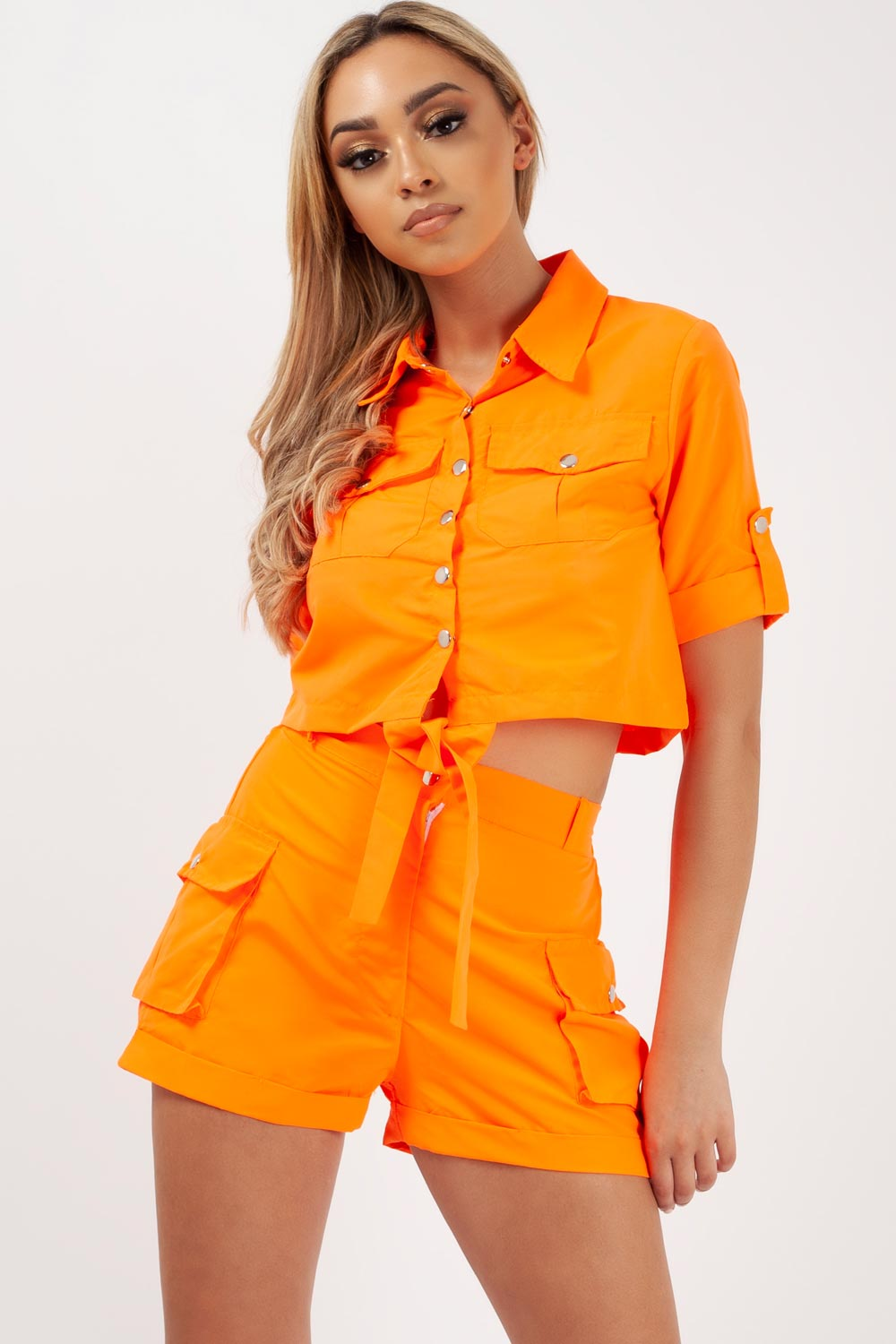 neon orange festival outfit uk