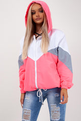 neon pink rain mac styledup fashion
