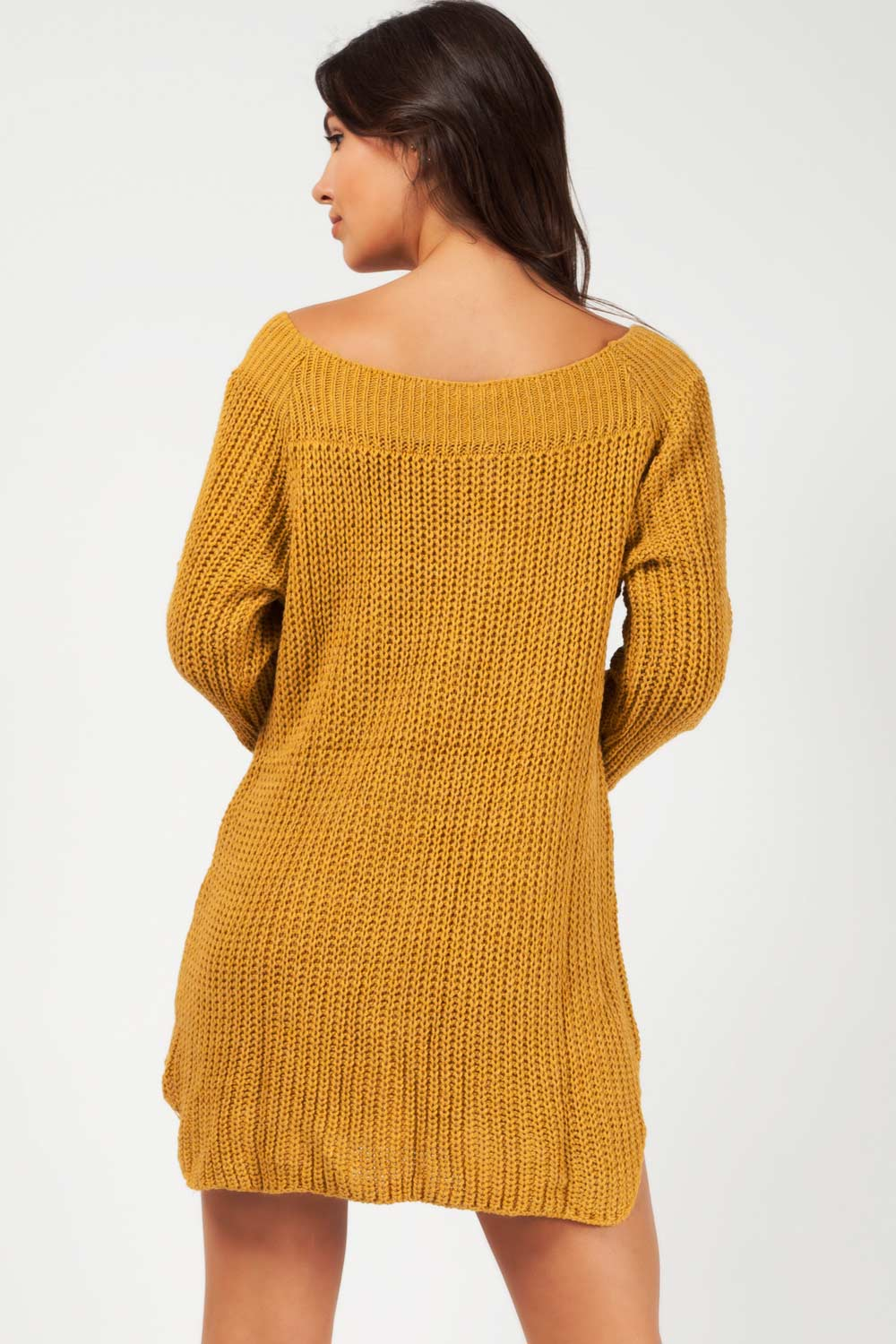 bardot jumper dress