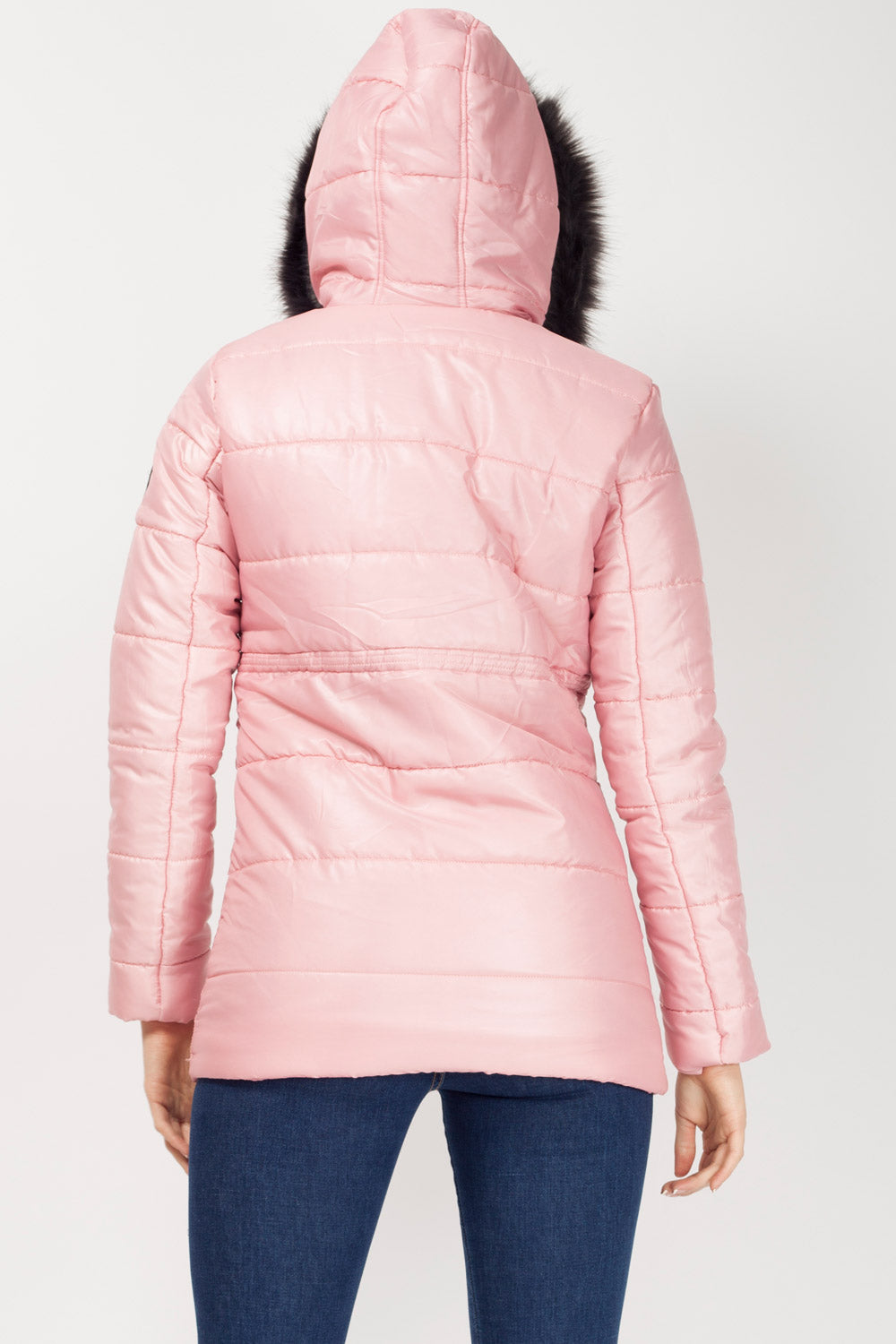 pink womens winter coats on sale