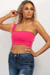 pink going out crop top