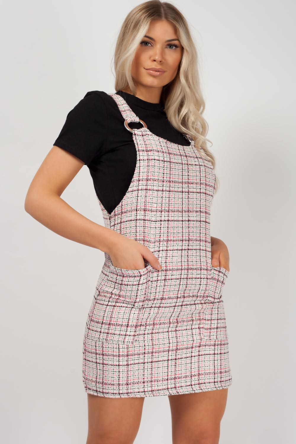 pinafore dress styledup fashion