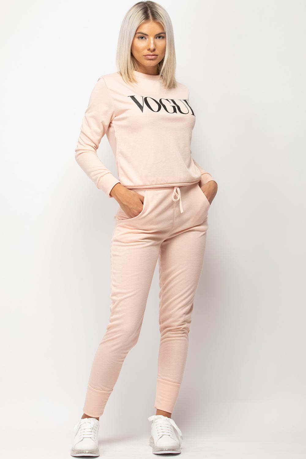 womens vogue loungewear set uk