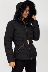 black puffer coat womens