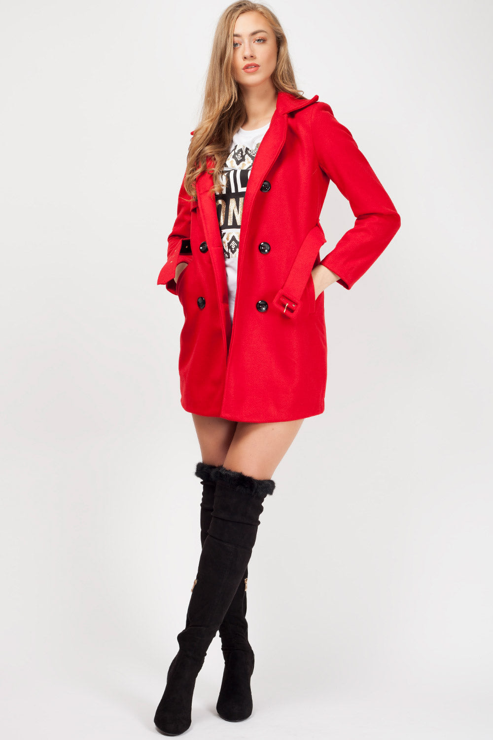 red duster coat