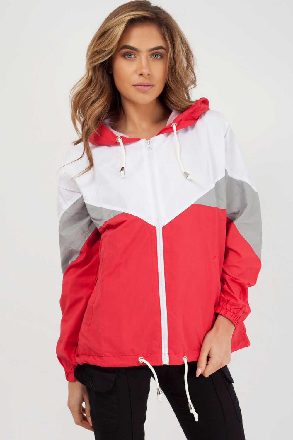 red festival jacket