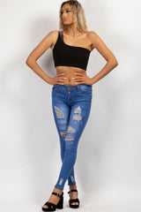 black festival crop top styledup fashion